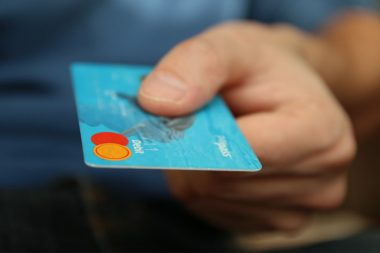 average person swallows credit card sized plastic