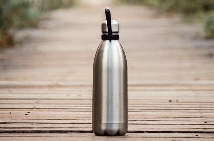 reusable plastic-free bottle