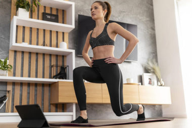 woman following fitness tips for beginners