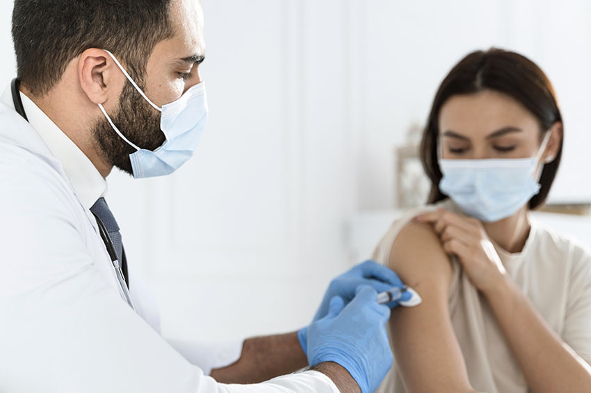 getting vaccinated