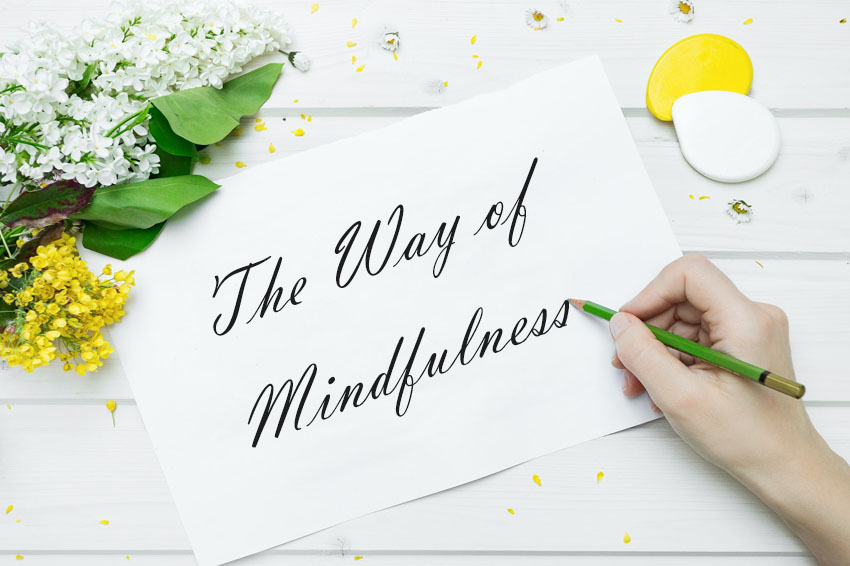 how to stay mindful at work
