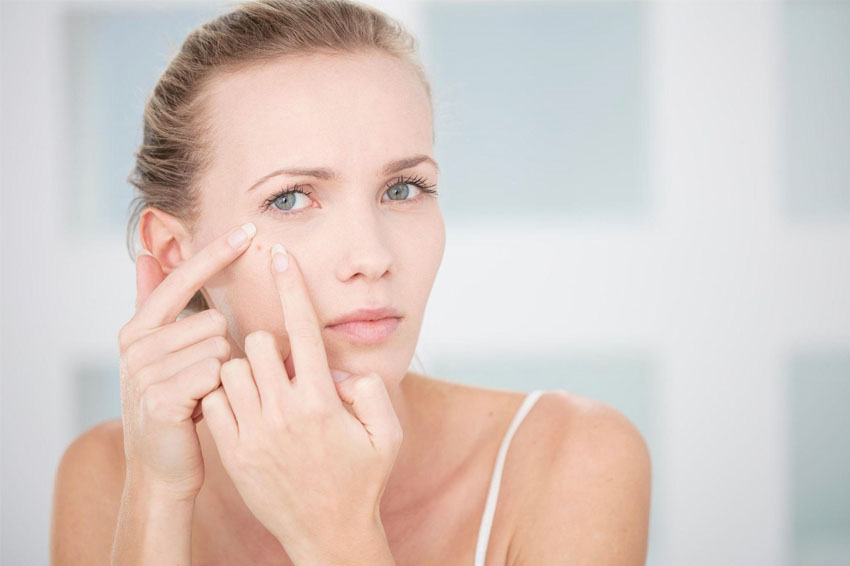 dehydrated skincare