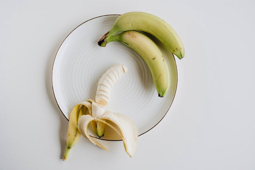eating banana post workout